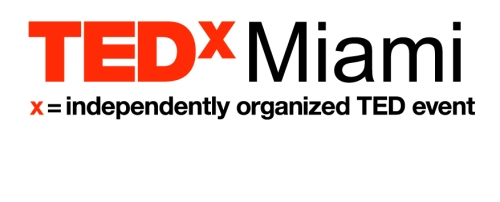 TEDxMiami - white-arial